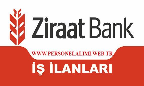 ziraat bankasi iş ilanları