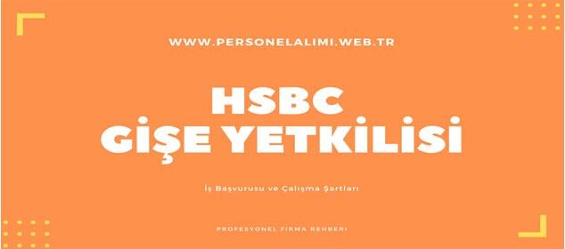 HSBC Gişe Yetkilisi İş İlanları