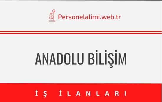 Anadolu Bilişim Hizmetleri İş İlanları